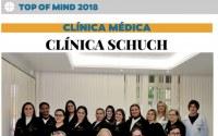 Continuar lendo Clínica Schuch recebe o reconhecimento da comunidade pelo 10º ano consecutivo no TOP OF MIND 2018