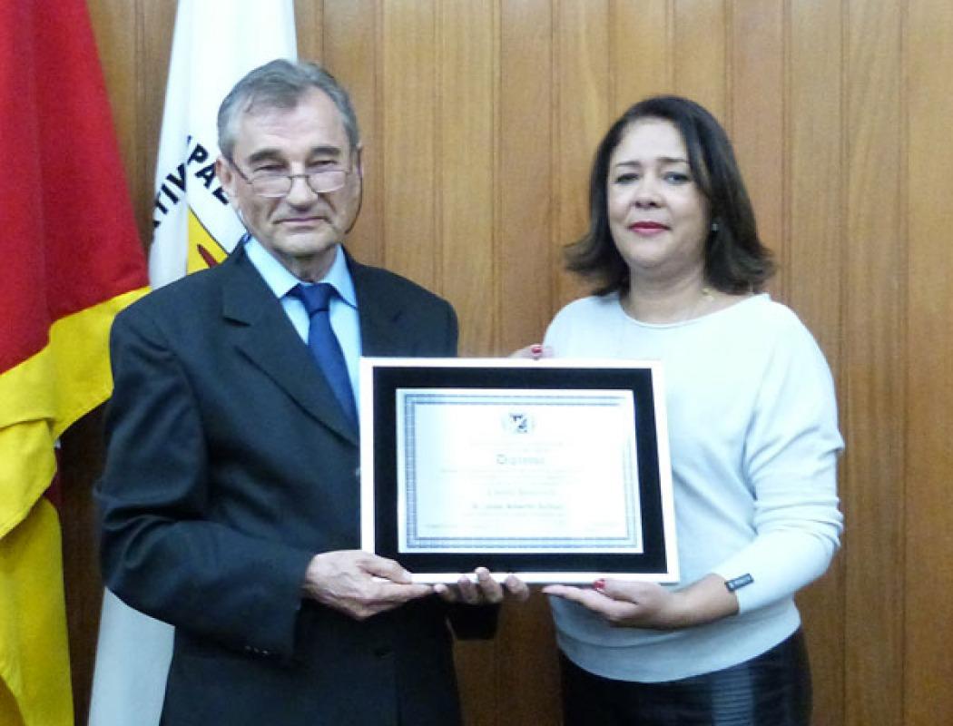 José Alberto Schuch é Cidadão Honorário de Cachoeira do Sul - 2015