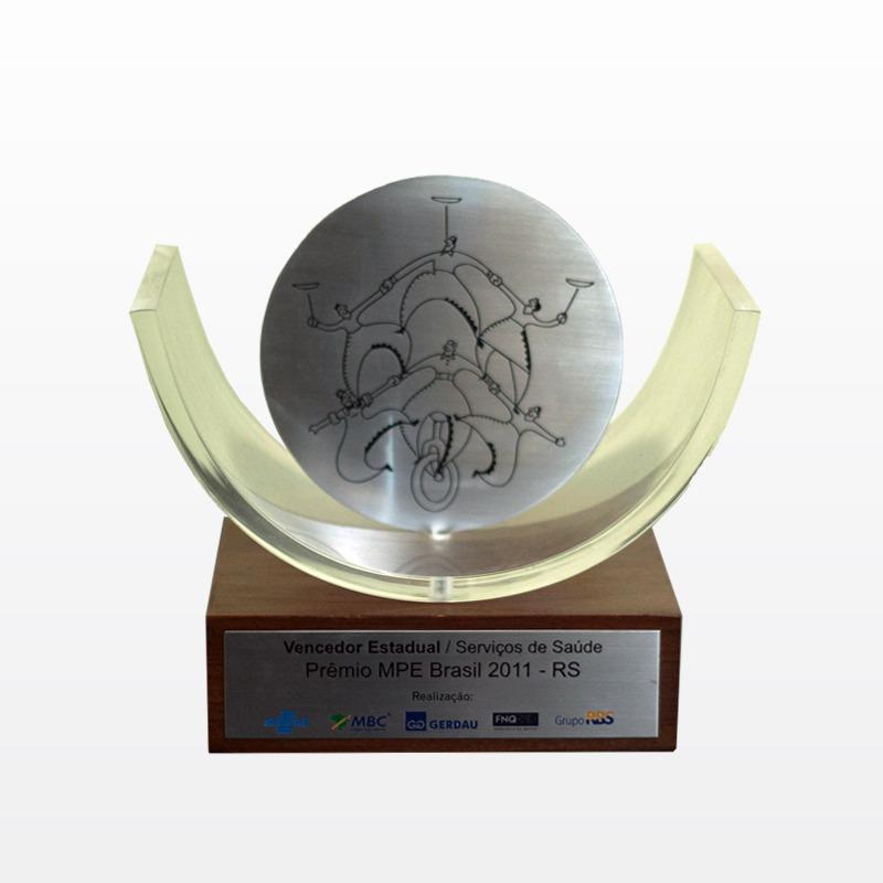 Vencedor Estadual / Serviços de Saúde Prêmio MPE Brasil 2011 - RS