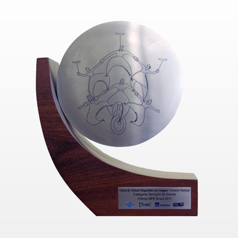 VencedorNacional na categoria Serviços de Saúde do Prêmio MPE Brasil 2011- RS.