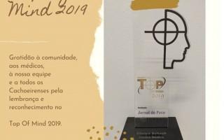 Vencedor do Prêmio Top Of Mind 2019