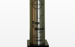 Vencedor do Prêmio Top Of Mind 2013