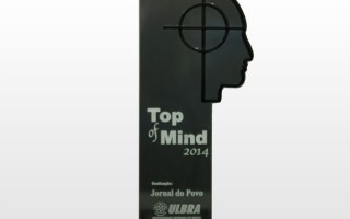 Vencedor do Prêmio Top Of Mind 2014